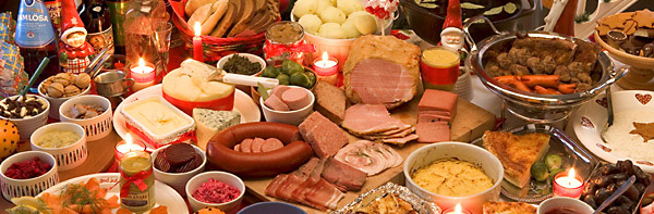its only november but we are already thinking about setting up our swedish christmas table julbord you are even starting to see signs of christmas - Swedish Christmas Food